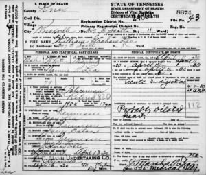 William G Lea 1930 TN Death Cert2.jpg