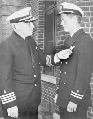 JFK awarded the Navy and Marine Corps Medal.jpg
