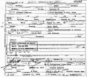 William Bruce Chamberlain 1978 TX Death Cert.jpg
