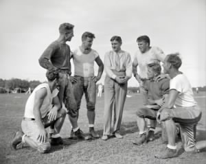 Wayne Millner, Charlie Malone, Vic Carroll, George Marshall and Bill Young, Ed Michaels, Jim Garber.jpg