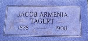 TAGERT, Jacob Armenia- 1828-1908 -headstone in Mobile co, AL.jpg