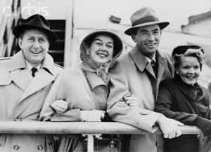 Fred Brisson Rosalind Russell, Gregory Peck, Greta Peck.jpg