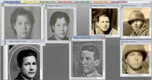 1931 - 1941 Yearbook PHOTOs ChiloccoOK QUINTON Olamae Laura David Leonard in bw COMPARE is this Bennie in sepia.jpg