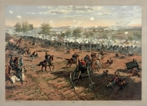 Battle of Gettysburg, showing Pickett's Charge..jpg