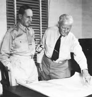 General Douglas MacArthur and Admiral Chester Nimitz, 1942-1944.jpg