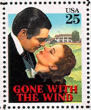 Gone with the Wind, Clark Gable & Vivien Leigh.gif