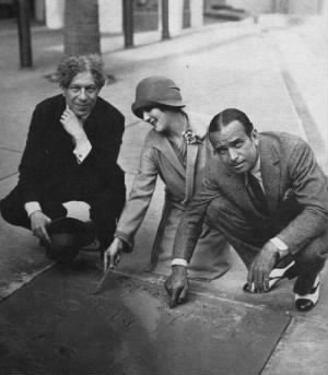 Sid Grauman, Mary Pickford Douglas Fairbanks.jpg