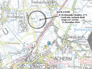 B26 Erma Crash Site Map.JPG