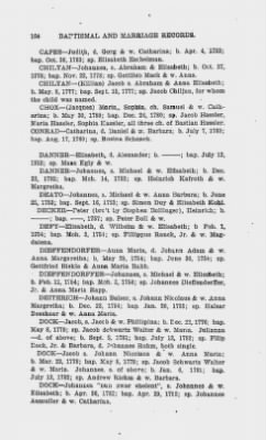 Baptismal and Marriage Records. Rev. John Waldschmidt, Cocalico, Moden Krick, Weisseichen Land and Seltenreich. Gemeinde. Lancaster County, Penna. 1752-1786. › Page 164 - Fold3.com