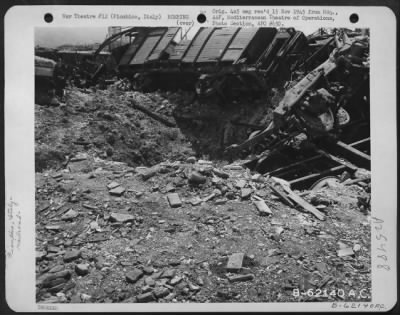 Bomb damage to rail line... › Page 1 - Fold3.com