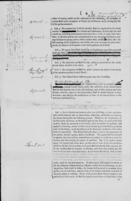 First Printed Draft of the Constitution Reported to the Convention by the Committee of Detail › 4 - Fold3.com