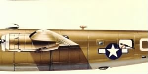 Consolidated B-24 Liberator of the 460th BG, 762nd BS livery.jpg