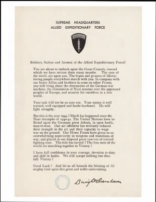1944 - D-Day Statement › Page 1 - Fold3.com