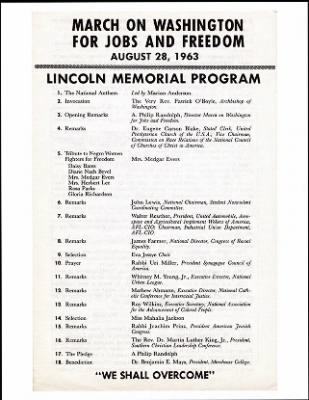 1963 - March on Washington › Page 1 - Fold3.com