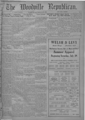1934-Jul-28 The Woodville Republican, Page 1