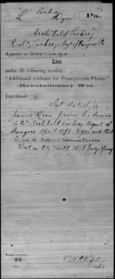 Colonel Archibald Lochry's of Lochry's Regiment of Rangers, Pennsylvania (Card 3 of 3) Revolutionary War Microfilm roll 0837 Nat.jpg