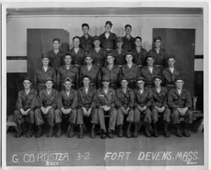 Fort Devens Mass., Co. G 1950s Squad