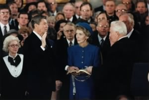 Ronald W. Reagan 1981 Inauguration